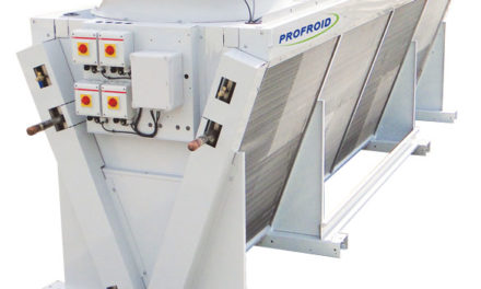 Profroid lance une nouvelle gamme de Gas coolers CO2 de 10 à 1000kW