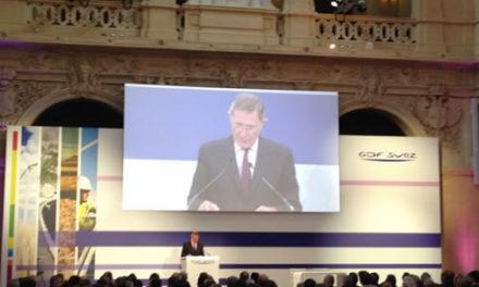 Gérard Mestrallet défend à Lyon la transition énergétique
