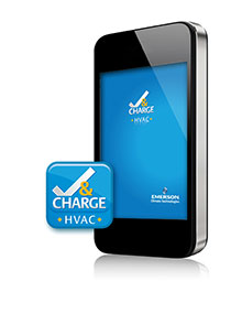 EMERSON CLIMATE TECHNOLOGIES HVAC CHECK & CHARGE APPLICATION MOBILE