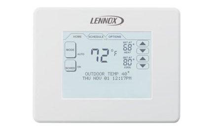 LENNOX lance le thermostat ComfortSense