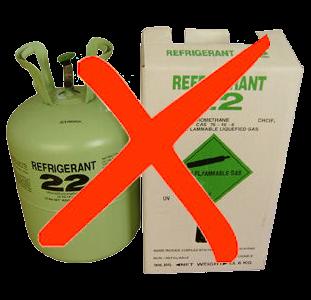 L'interdiction du R22 affecte toujours les entreprises