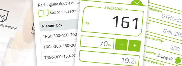SWEGON lance sa nouvelle application Sweflow