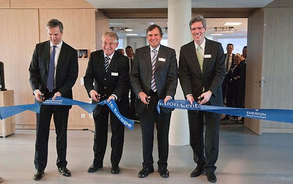 Emerson ouvre son Europe Solution Centre