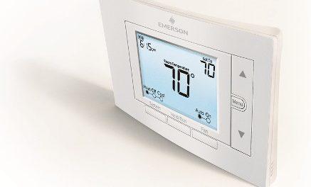 Emerson lance sa gamme de thermostats 80 Series