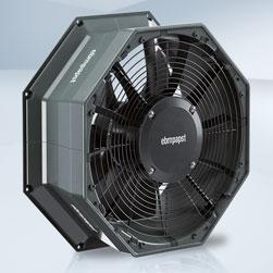 EBM PAPST lance de nouveaux ventilateurs axiaux