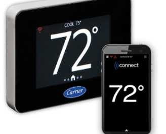 Carrier lance un nouveau thermostat connecté