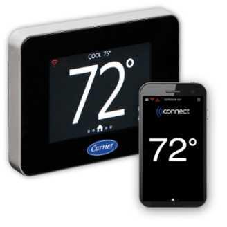 Carrier lance un nouveau thermostat connecté