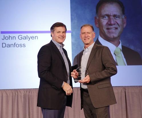 Le président de Danfoss reçoit une récompense de l'AHRI