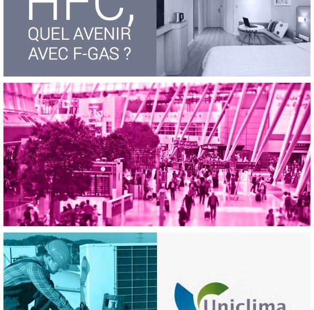 Uniclima publie son guide sur les HFC et la F-Gas