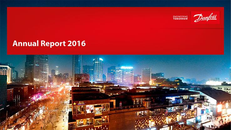 Danfoss poursuit sa croissance en 2016