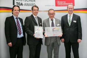 BITZER reçoit le prix Deutscher TGA