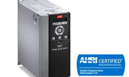 Les VLT HVAC Drives de Danfoss certifiés par l'AHRI