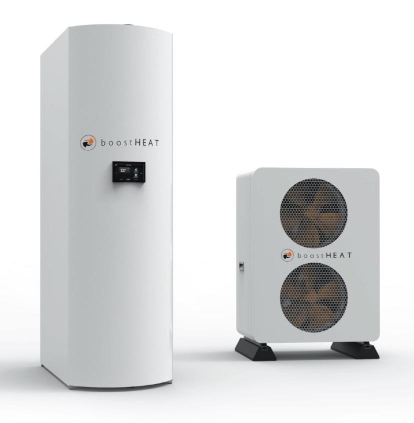 Chaudière à gaz thermodynamique BoostHEAT