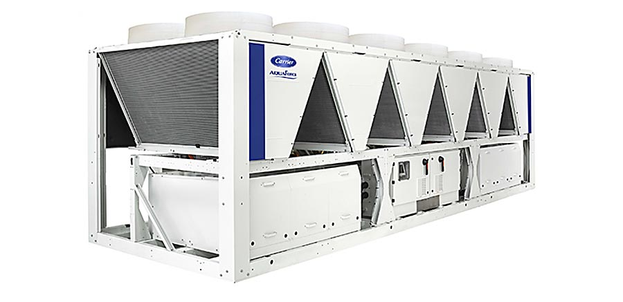 Carrier China va fournir 26 refroidisseurs d'eau AquaForce® 30XQ à China Minsheng Bund Real Estate Development