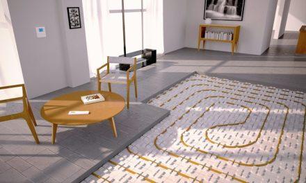 Une maison neuve sur trois est dotée d'un plancher chauffant/rafraîchissant basse température