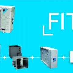 Daikin dévoile son nouveau système de climatisation Daikin Fit