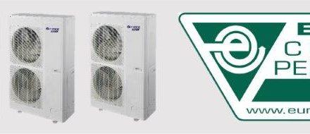 Quatre gammes de climatiseurs VFR GMV5 de GREE ont reçu la certification Eurovent