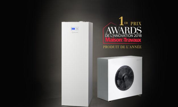 Le lauréat du Tech For Good Award attribué à BoostHeat dans la catégorie « Consommation responsable »