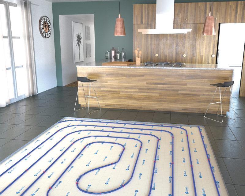 Thermacome dévoile sa première dalle de plancher chauffant fibrée