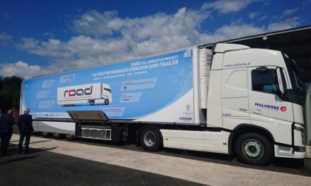 La première semi-remorque frigorifique à l'hydrogène – ROAD