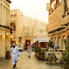 Les rues de Qatar climatisées